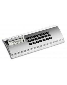 Calculadora con regla de 15 cm