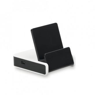 Soporte para Móvil 3 Puertos. USB 2.0