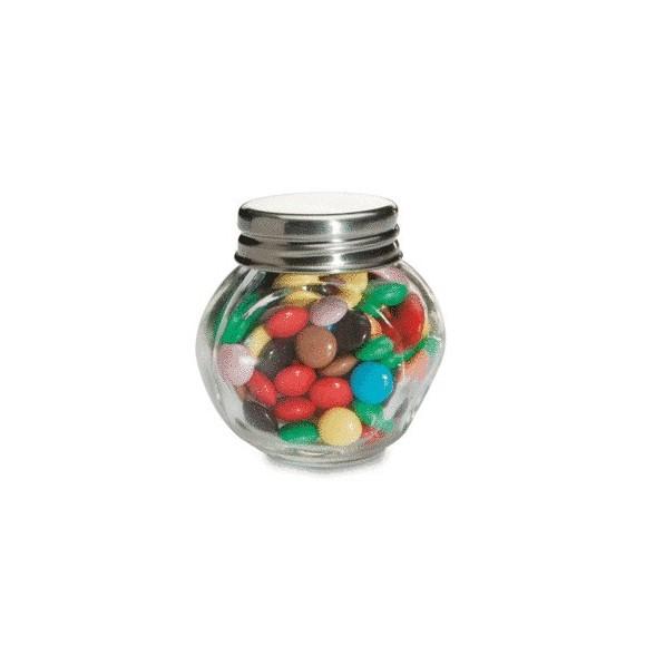 Bote de cristal  de chocolates