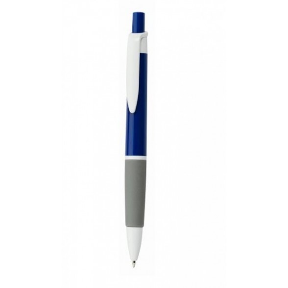 Bolígrafo publicitario con grip.