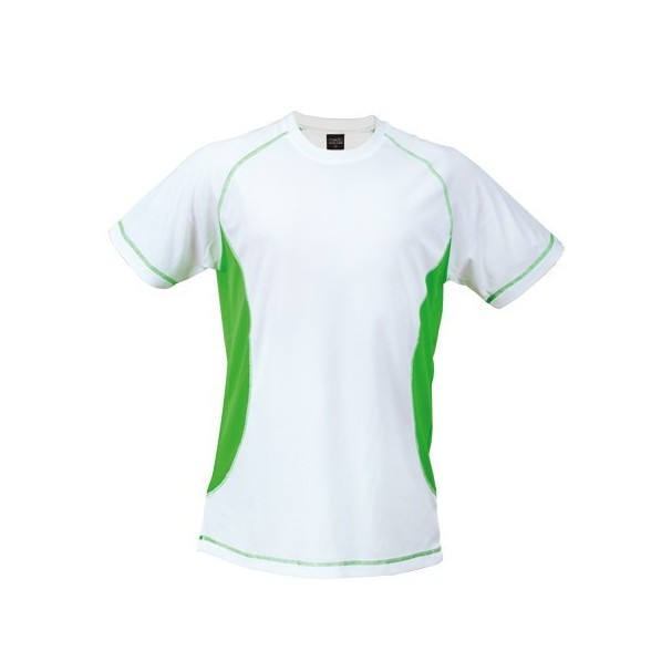 Camiseta publicitaria personalizada Técnica Combi 100% poliéster