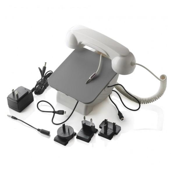 Estación de acoplamiento Retro teléfono