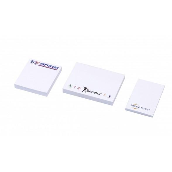 Notas adhesivas personalizadas 50x72 mm