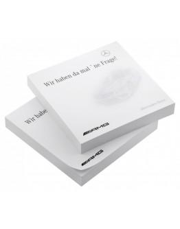 Notas adhesivas personalizadas 75x75 mm