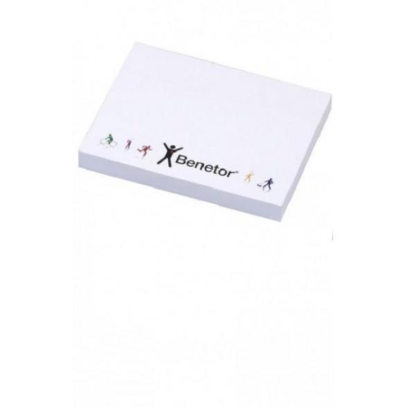 Notas adhesivas personalizadas 100x72 mm