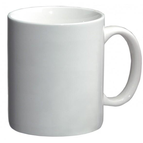 Mug blanco de loza