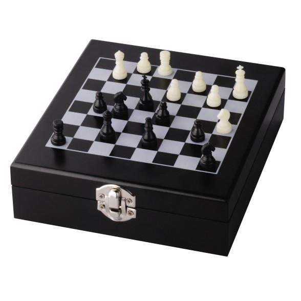 Set Vino con juego de Ajedrez