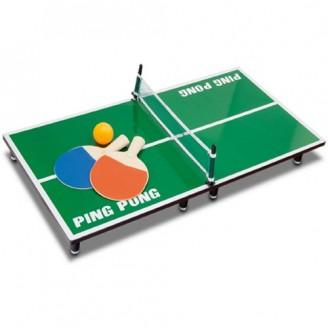 Mini Ping  pong publicitario de Madera