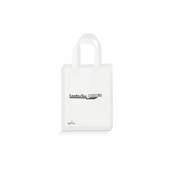 Bolsa de plástico 100% biodegradable