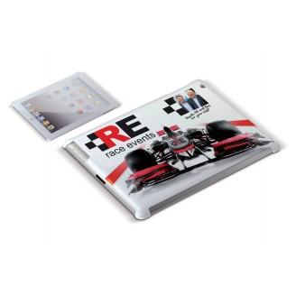 Carcasa publicitaria  iPad II y III