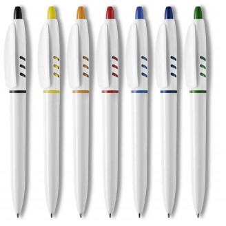 Bolígrafo plástico S30 White