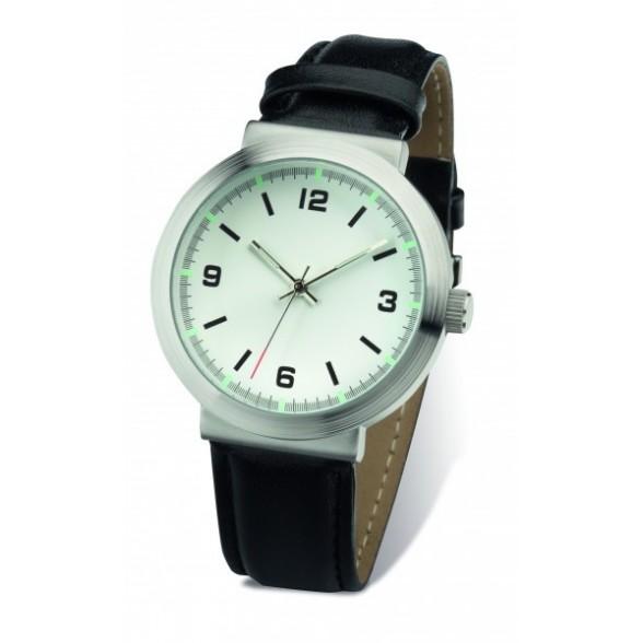 Reloj pulsera Deva con correa piel