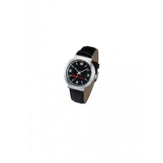 Reloj pulsera con correa piel. Impresión 2 colores incluida