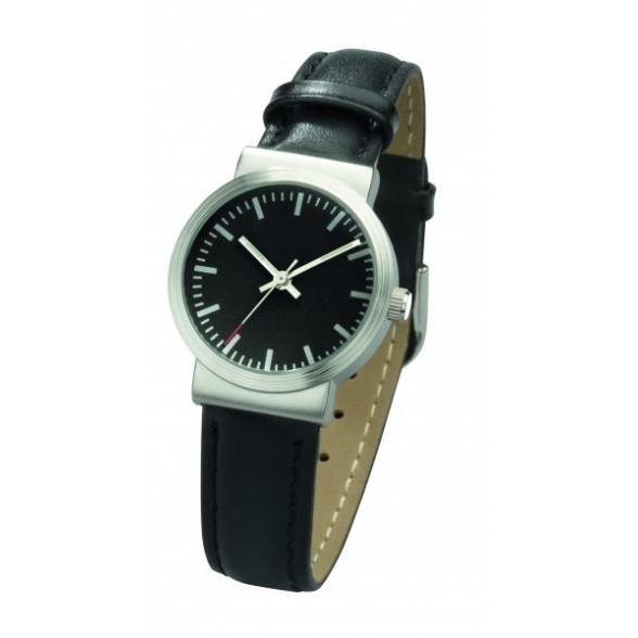 Reloj pulsera de mujer con correa de piel
