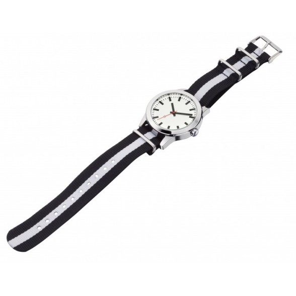 Relojes pulsera publicitarios correa nylon. Relojes pulsera personalizados