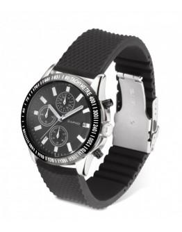 Reloj pulsera de silicona con cronómetro y calendario