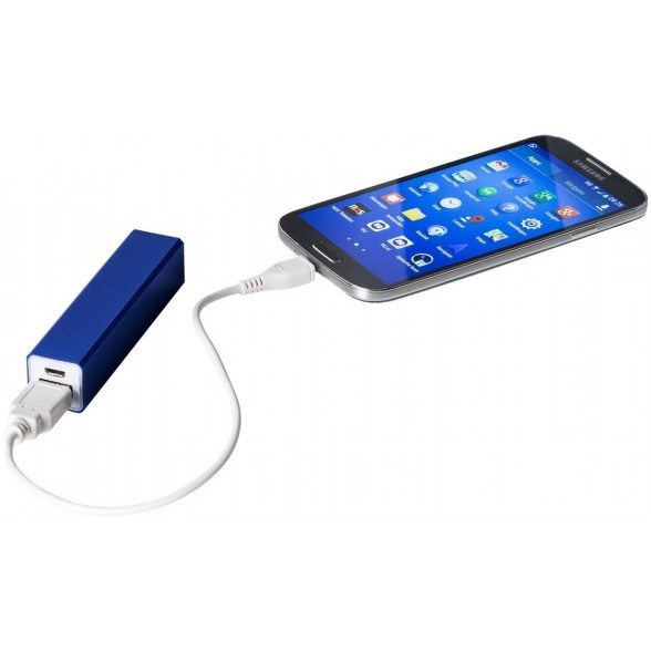 Power bank publicitario de Aluminio Flash