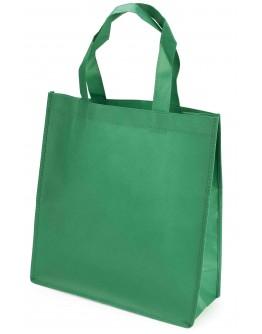 Bolsa de tejido no tejido con asas y fuelle / Bolsas promocionales