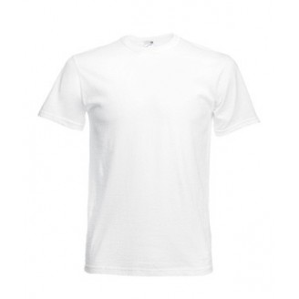 Camiseta publicidad ORIGINAL Fruit of the Loom. Blanco