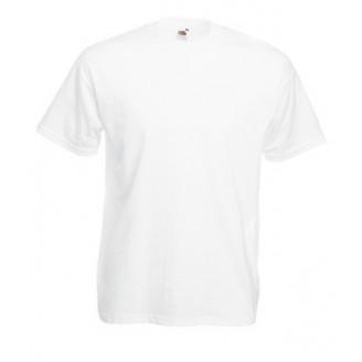 Camiseta para publicidad VALUE. Blanco