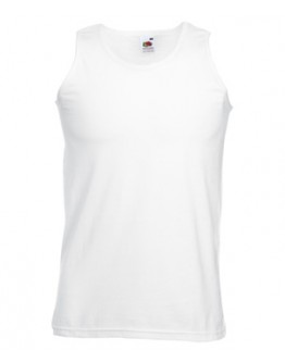 Camiseta tirantes ATLETA Fruit of the Loom blanca