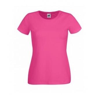 Camiseta publicitaria Entallada Cuello Redondo