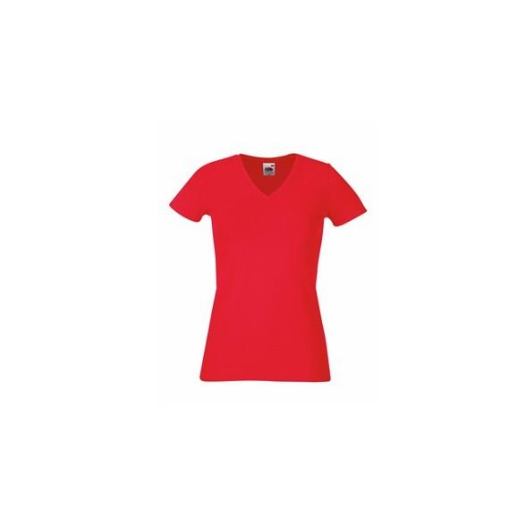 Camisetas Fruit of the Loom cuello pico. Camisetas publicitarias