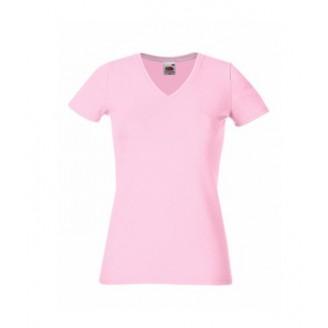 Camiseta publicidad Entallada Cuello Pico para mujer