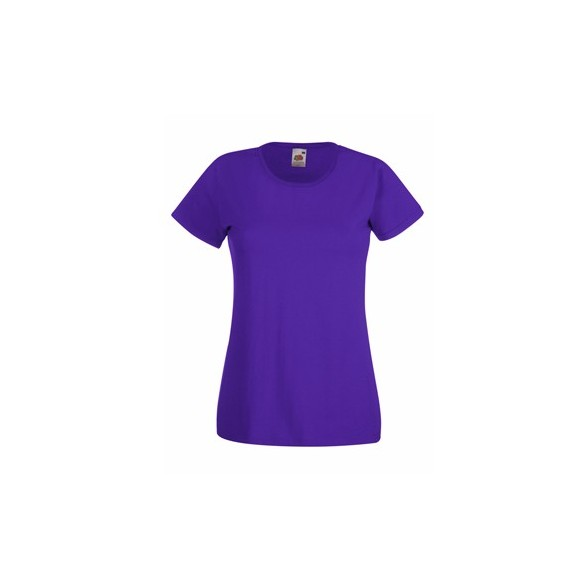 Camiseta publicitaria Value de Mujer / Camisetas Fruit of the Loom