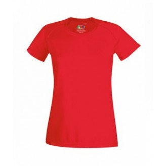 Camiseta técnica running Ladies Performance  / Camisetas Fruit of the Loom