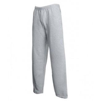 Pantalones Felpa Puños Abiertos