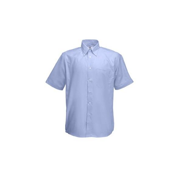 Camisa trabajo Oxford Manga Corta Fruit of the Loom / Camisas Bordadas