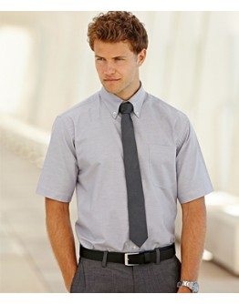 Camisa trabajo Oxford Manga Corta Fruit of the Loom / Camisas Bordadas