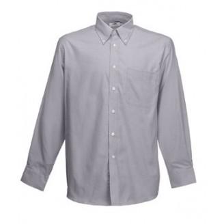 Camisa de trabajo Oxford Manga Larga / Camisas Fruit of the Loom