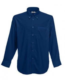 Camisa de trabajo Oxford Manga Larga / Camisas Fruit of the Loom