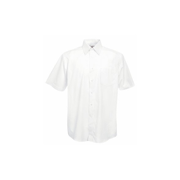Camisa trabajo de Popelina Manga Corta / Camisas Bordadas Corporativas