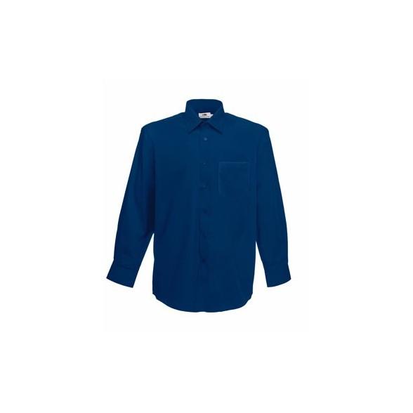 Camisa de trabajo Popelina Manga Larga / Camisas Corporativas Bordadas