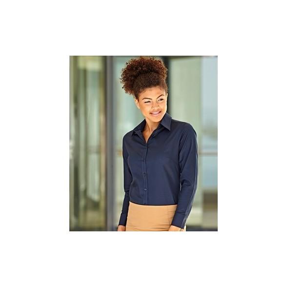 Camisa de trabajo Oxford Manga Larga para Mujer