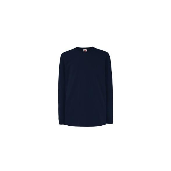 Camiseta Valueweight Niño Manga Larga / Camisetas Fruit of the Loom