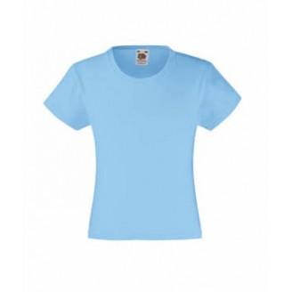 Camisetas Fruit of the Loom Value Niña / Camisetas Personalizadas