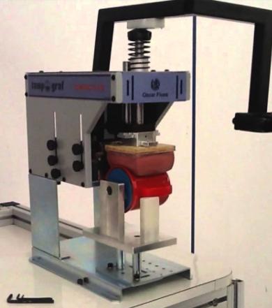 Máquina tampografía manual